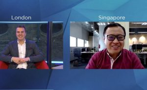 Interview with Arthur Lang, CEO, International, Singtel