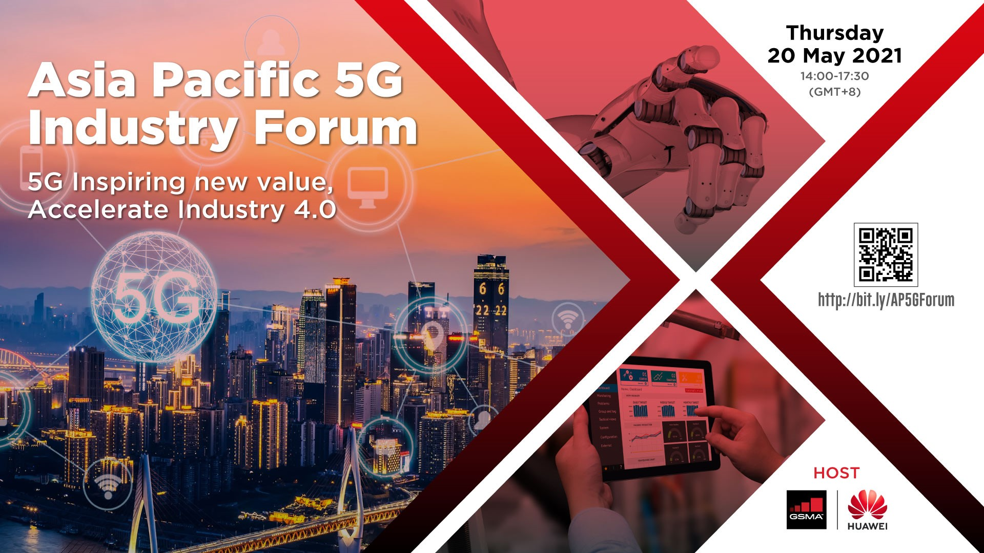 APAC 5G Industry Forum – powered by GSMA and Huawei