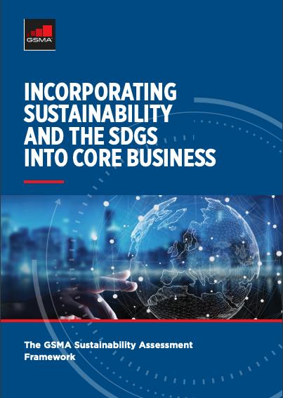 The GSMA Sustainability Assessment Framework image