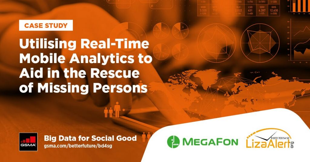 Utilising real-time mobile analytics to aid in the rescue of missing persons image