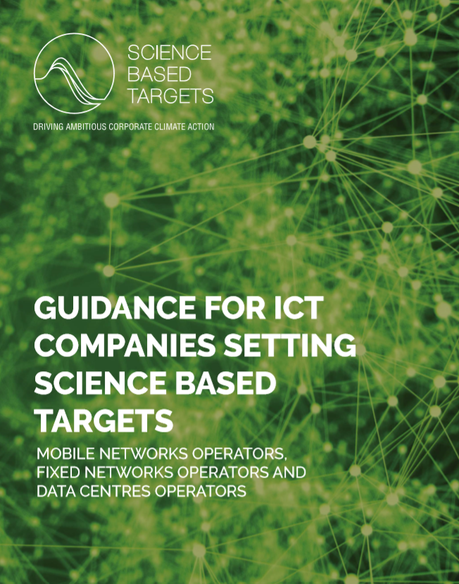 Guidance for ICT Companies Setting Science Based Targets image