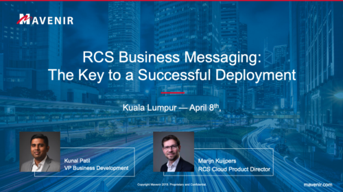 GSMA RCS Business Messaging Lab #23 Kuala Lumpur – Speakers' Presentations image