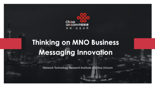 GSMA RCS Business Messaging Lab #25 Shanghai – Speakers' Presentations image
