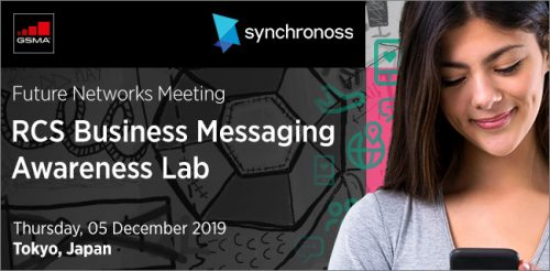 GSMA RCS Business Messaging Lab #29 Tokyo, Japan – Speakers' Presentations image