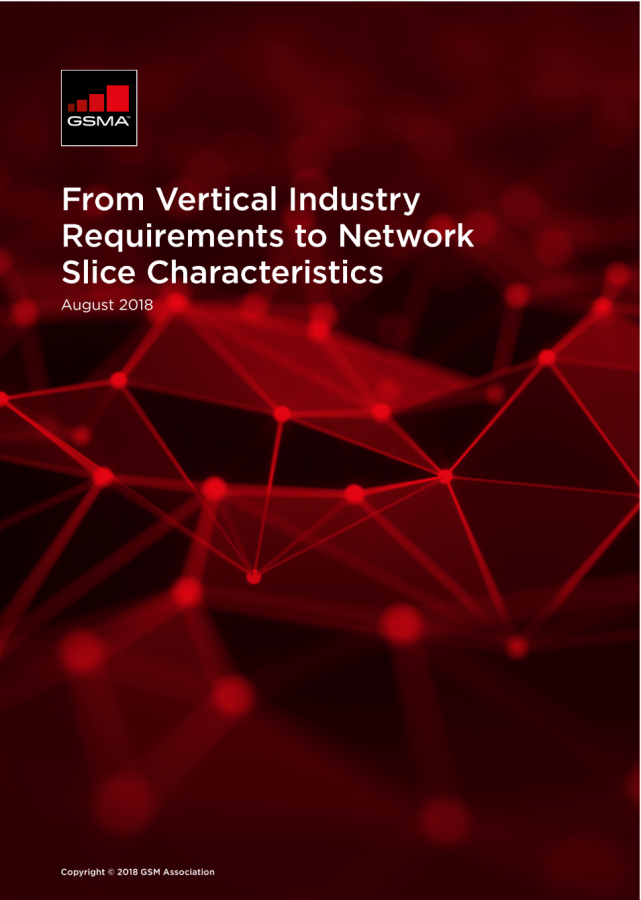 From Vertical Industry Requirements to Network Slice Characteristics image
