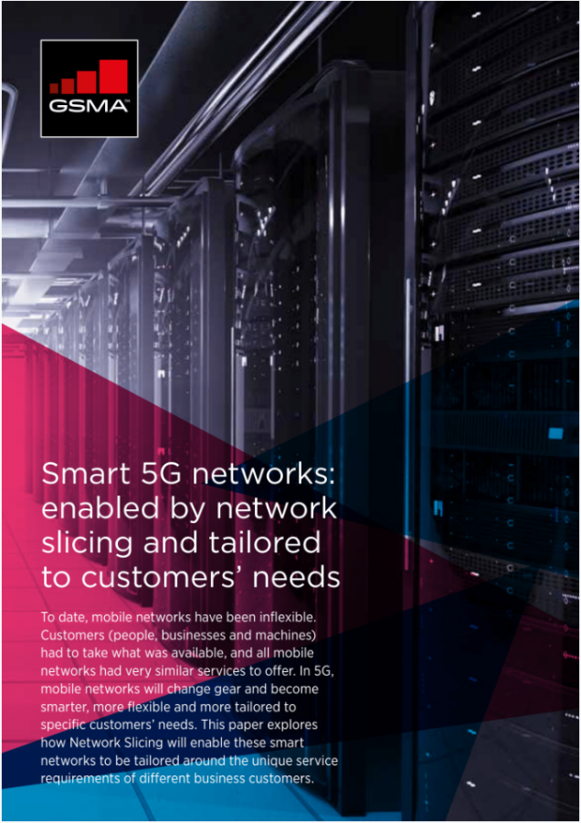 Smart 5G networks: enabled by network slicing and tailored to customers' needs image
