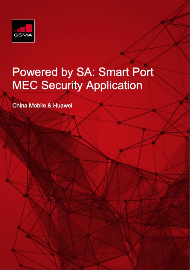 Powered by SA: China Mobile Smart Port MEC Security Application image