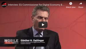 Interview: EU Commissioner for Digital Economy & Society