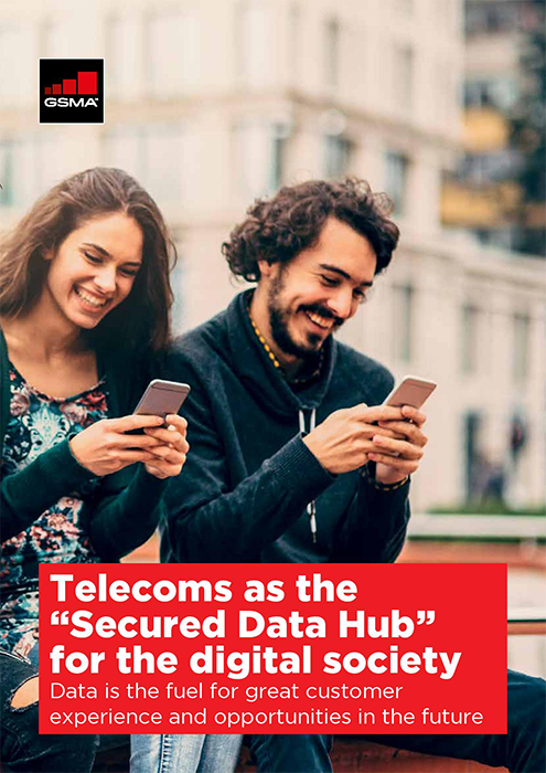 """Telecoms as the """"Secured Data Hub"""" for the Digital Society image"""