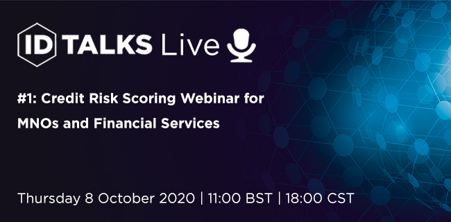 ID Talks Live: Credit Risk Scoring