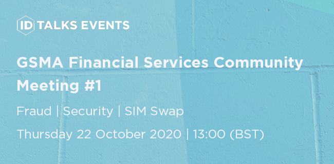 GSMA Financial Services Community Meeting #1