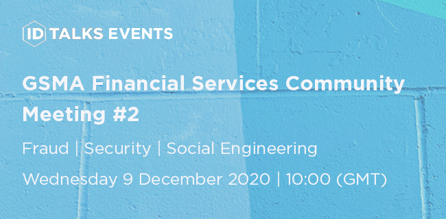 GSMA Financial Services Community Meeting #2