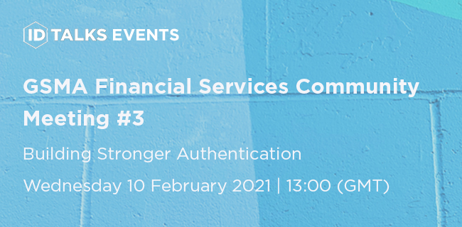 GSMA Financial Services Community Meeting #3