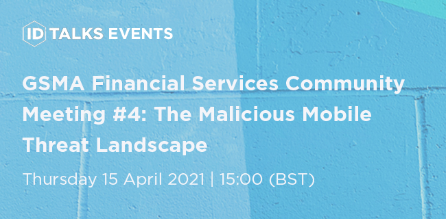 GSMA Financial Services Community Meeting #4