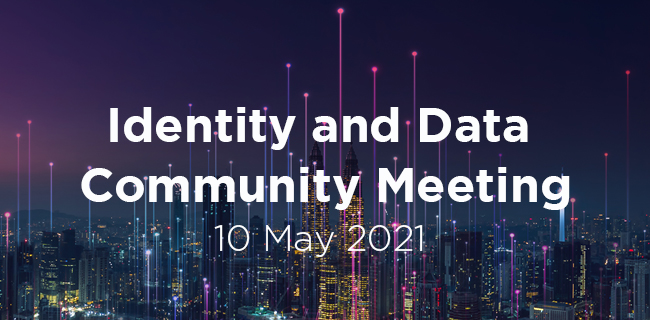 Identity and Data Community Meeting