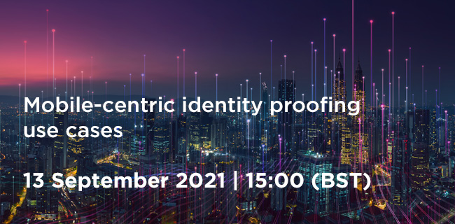 Identity and Data Community Meeting: Mobile-centric identity proofing use cases