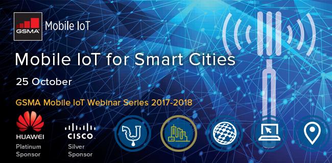 Webinar: Mobile IoT (LPWA) for Smart Cities