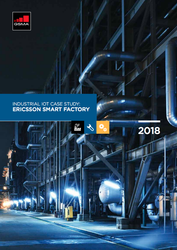 Mobile IoT Case Study: Ericsson Smart Industrial Factory image
