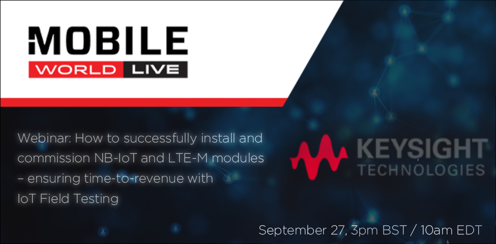 Webinar: How to successfully install and commission NB-IoT and LTE-M modules – ensuring time-to-revenue with IoT Field Testing