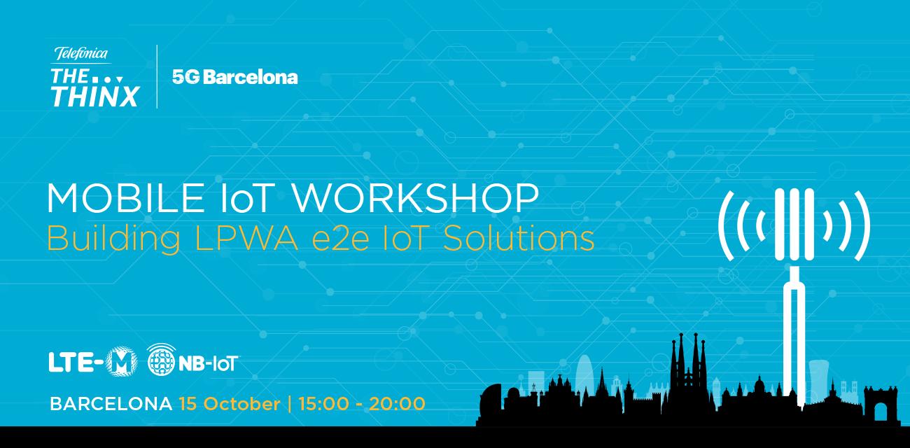 Mobile IoT Workshop – Building LPWA e2e IoT Solutions