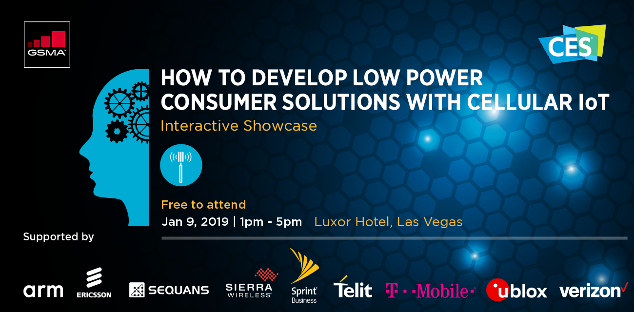 GSMA How to Develop Low Power Consumer Solutions with