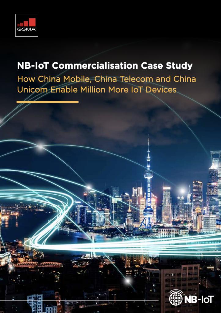 NB-IoT Commercialisation Case Study: How China Mobile, China Telecom & China Unicom Enable Million More IoT Devices   NB-IoT商业化案例研究:中国移动、中国电信和中国联通 如何支持数千万物联网设备 image