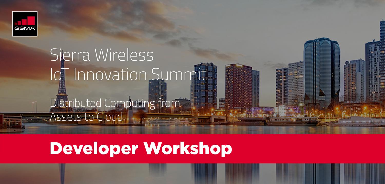 Developer Workshop at Sierra Wireless IoT Innovation Summit