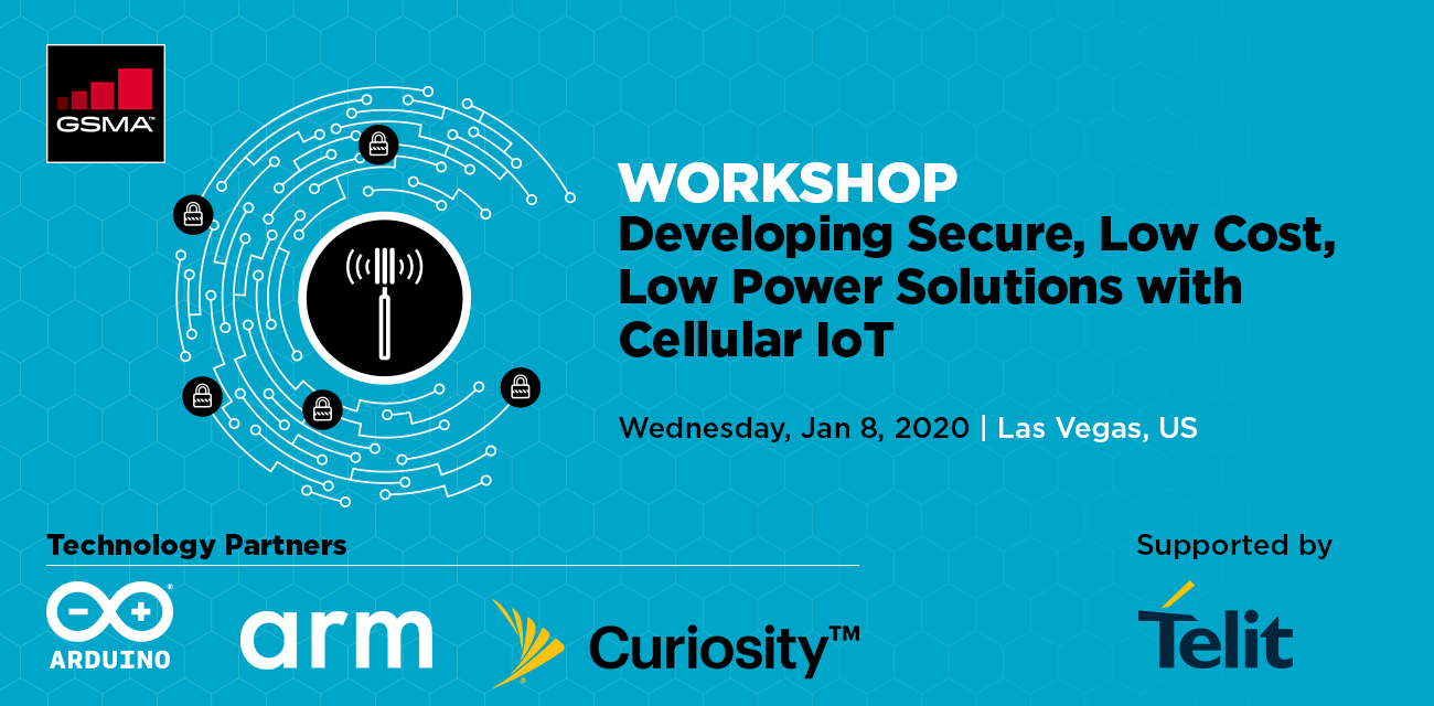 Developing Secure, Low Cost, Low Power Solutions with Cellular IoT at CES2020