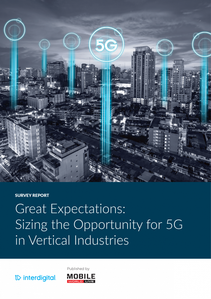 Great Expectations – Sizing the Opportunity for 5G in Vertical Industries image