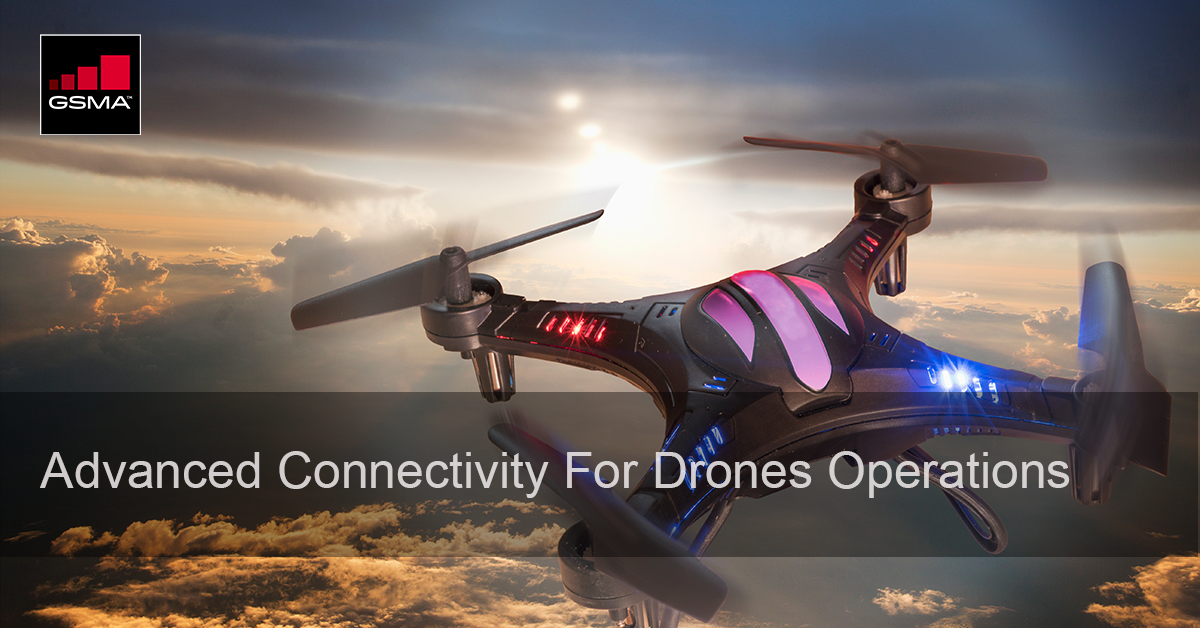 GUTMA Connected Skies Webinar: Advanced Use Of Connectivity For Drones Operations