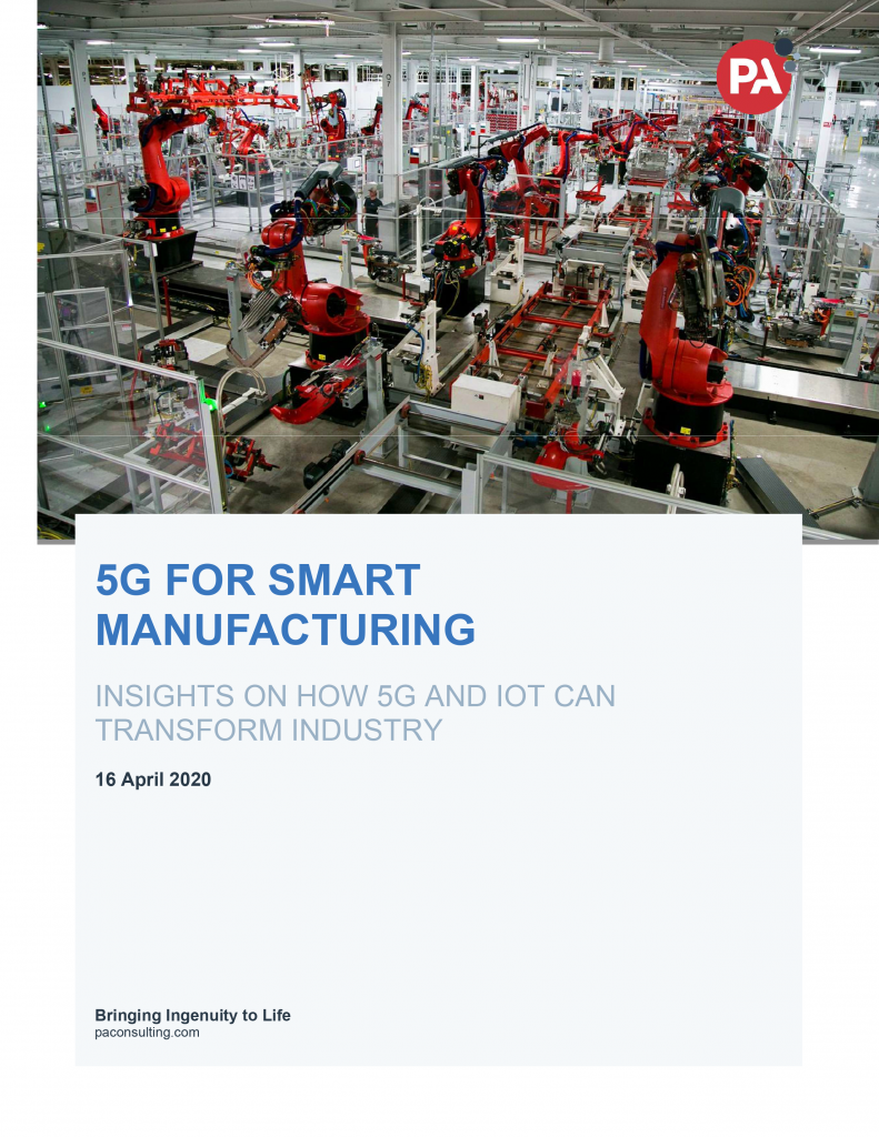 5G for Smart Manufacturing – Insights on How 5G and IoT Can Transform Industry image