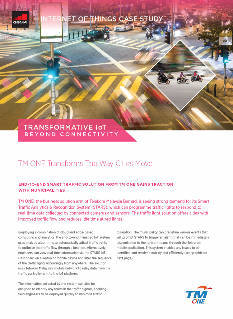 IoT Beyond Connectivity Case Study: TM ONE Transforms The Way Cities Move image