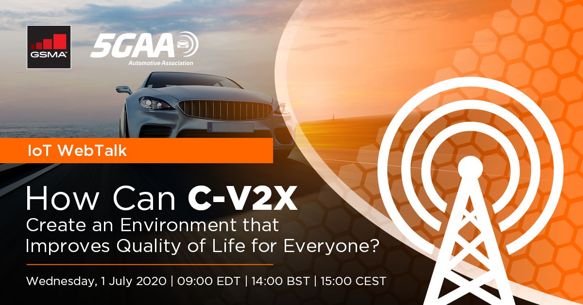IoT WebTalk: How Can C-V2X Create an Environment that Improves Quality of Life for Everyone?