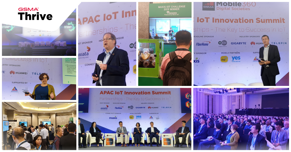 IoT Summits – GSMA Thrive Asia Pacific 2020