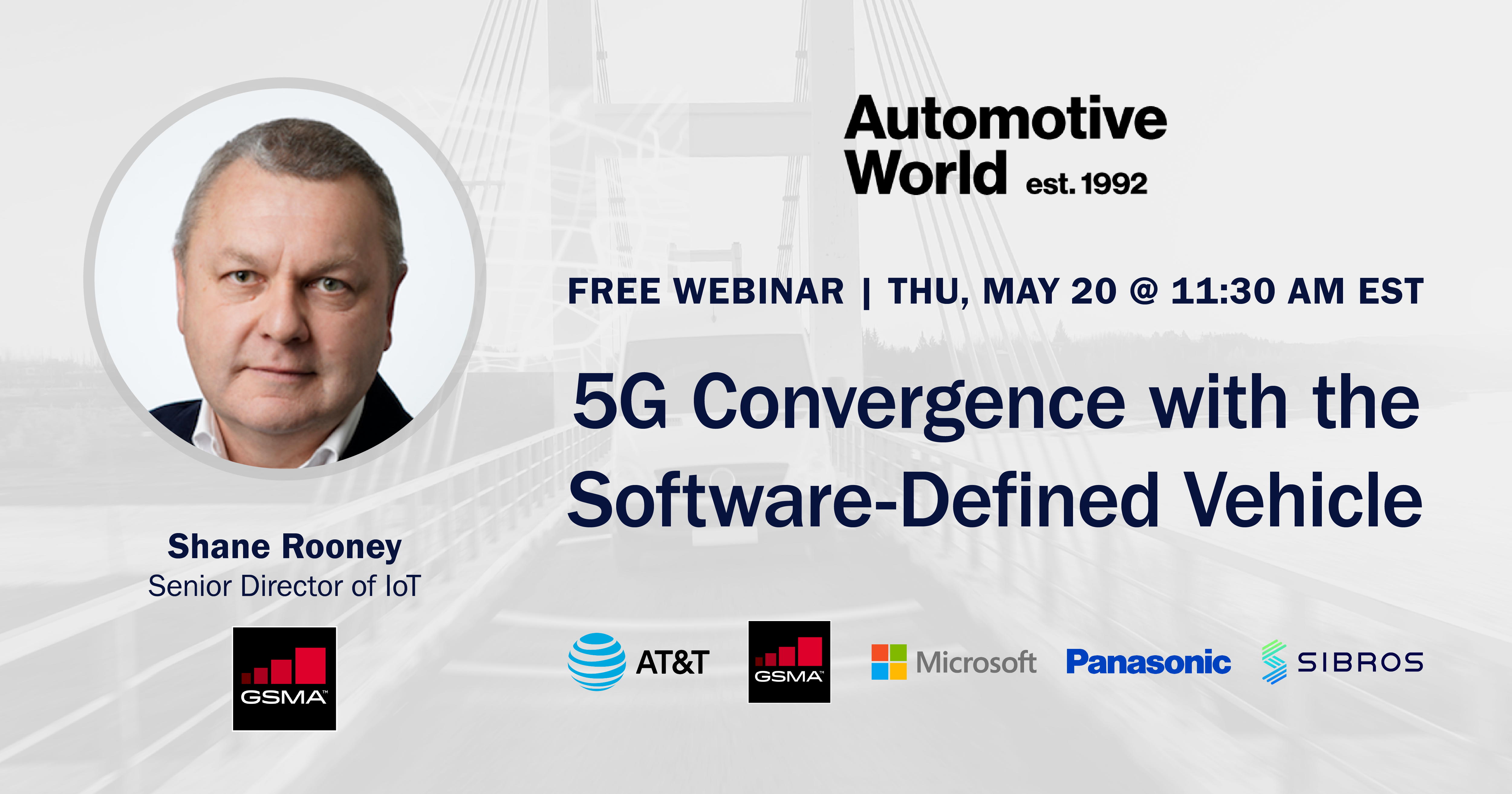 Webinar: 5G Convergence with the Software-Defined Vehicle