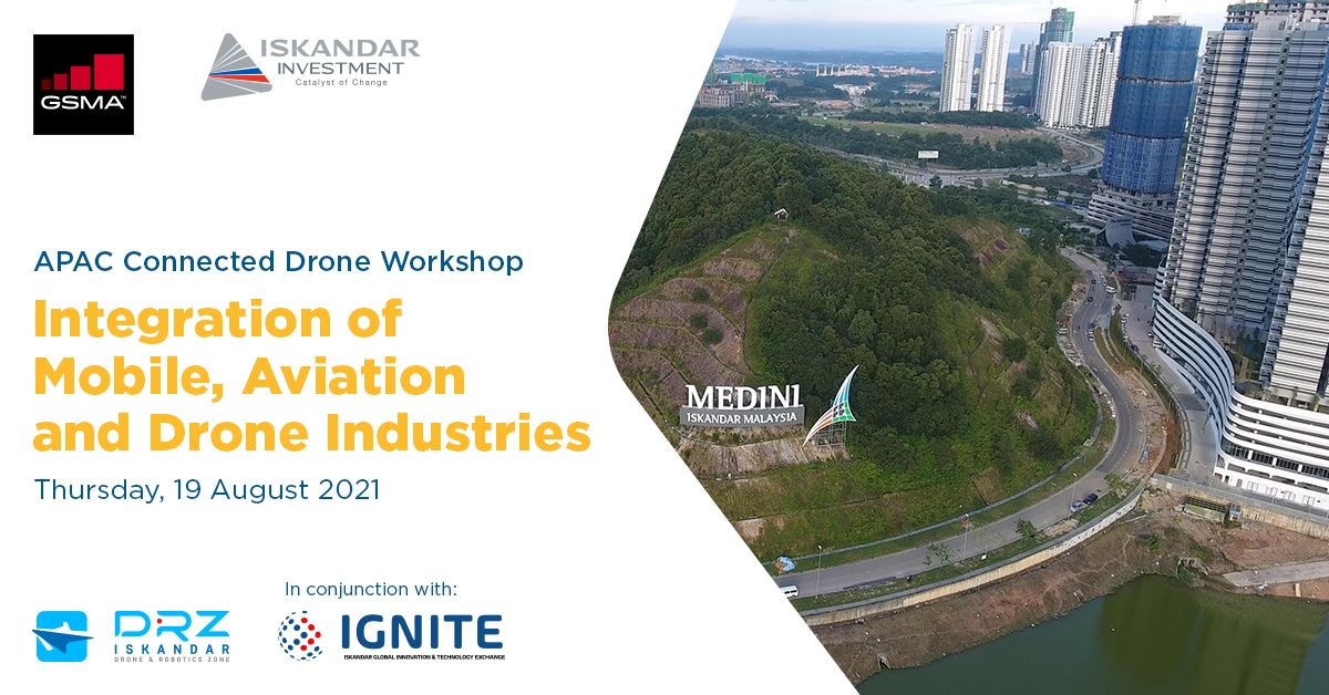 APAC Connected Drone Workshop: Integration of Mobile, Aviation and Drone Industries