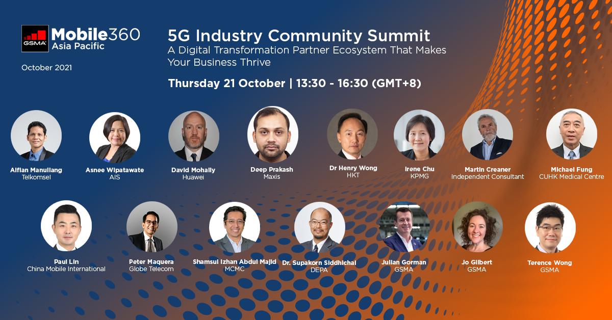 GSMA Mobile 360 APAC – 5G Industry Community Summit