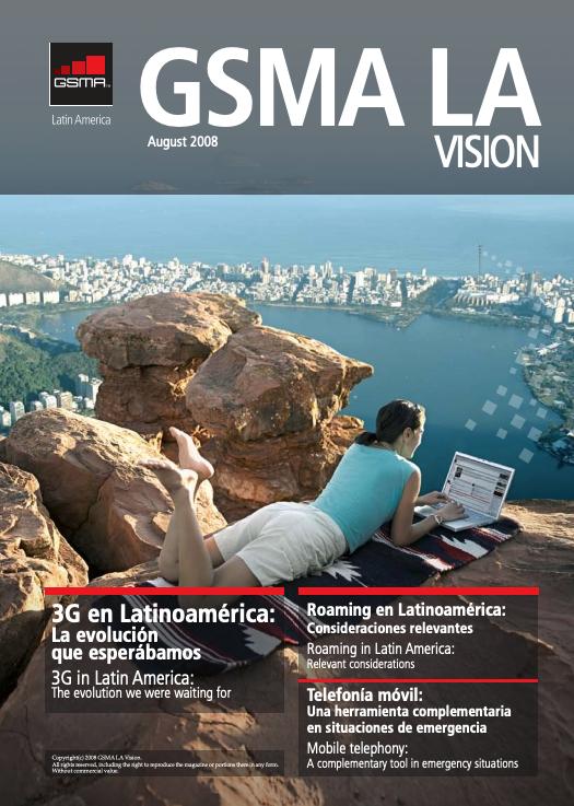 Revista GSM LA Vision, edición 2008 image