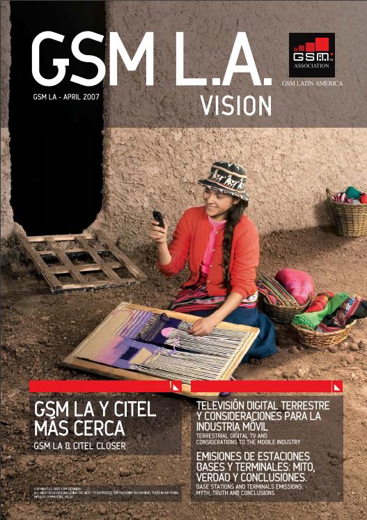 Revista GSM LA Vision, edición 2007 image