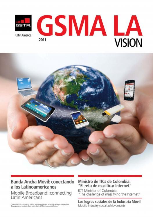 Revista GSMA LA Vision, edición 2011 image