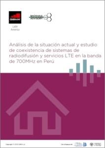Coexistência de sistemas de radiodifusão e serviços LTE na banda de 700MHz no Peru image