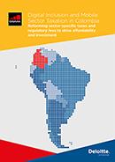 Inclusão digital e Tributação do setor Móvel na Colômbia 2016 image