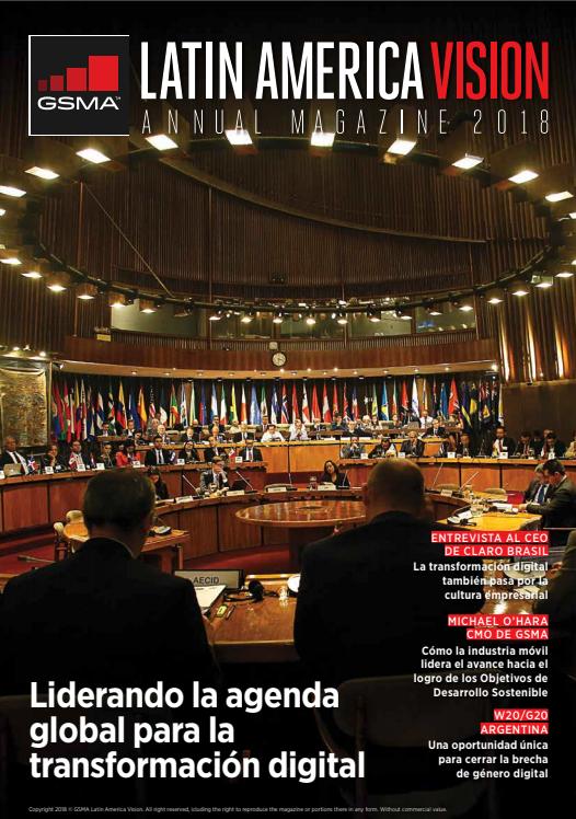 Revista GSMA LA Vision, edición 2017 – 2018 image