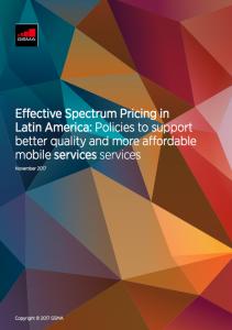 Eficacia en la fijación de los precios del espectro en América Latina image