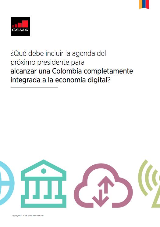 La GSMA propone a los candidatos a la presidencia de Colombia cuatro ejes para integrarse completamente a la economía digital image