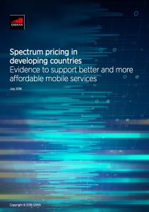 Tarifação do espectro nos países em desenvolvimento image