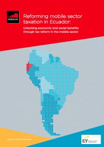 Reforma del sistema tributario del sector móvil en Ecuador image