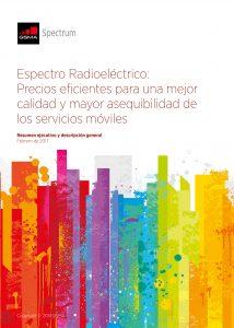 Espectro Radioeléctrico: Precios eficientes para una mejor calidad y mayor asequibilidad de los servicios móviles image