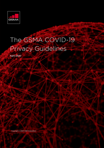 COVID-19 Privacy Guidelines image