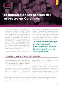 El impacto de los precios del espectro en Colombia image